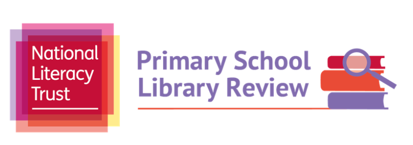 National Literacy Trust Primary School Library Review Logo